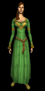 Ceremonial Dress (green)