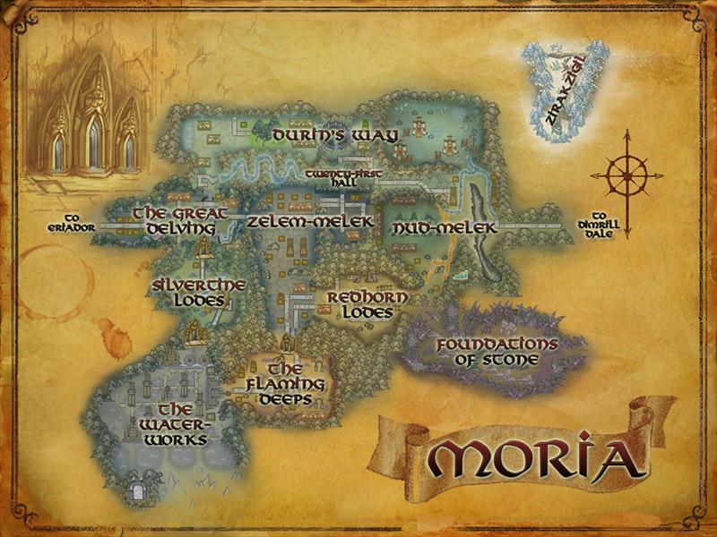 La Moria [seigneur des anneaux] Moria_map