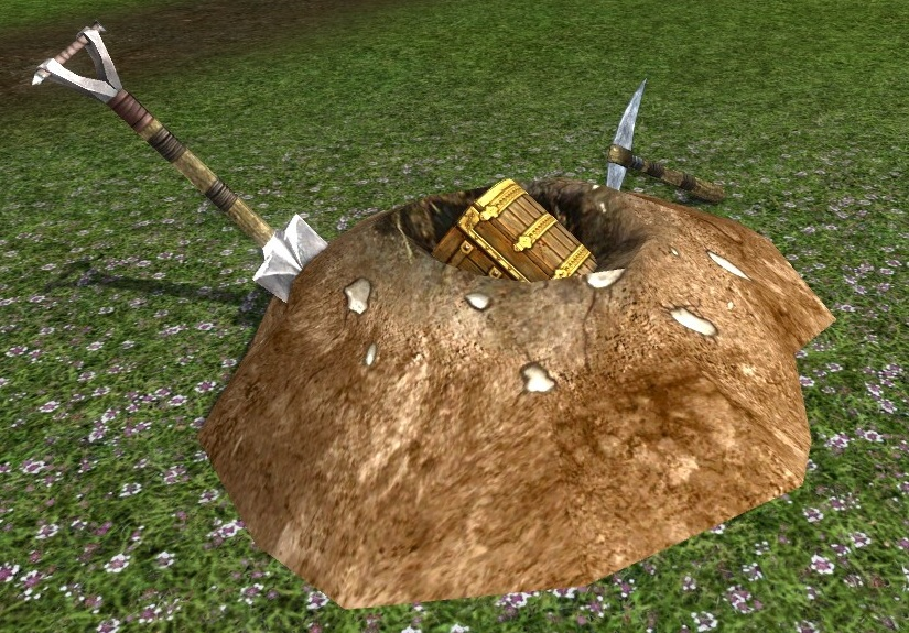 Buried treasure, LOTRO Wiki