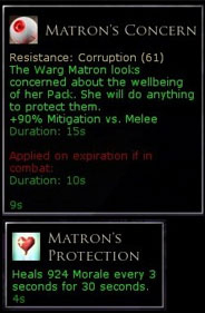 Matron corruption.