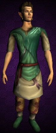 Short-sleeved Elven Tunic and Trousers