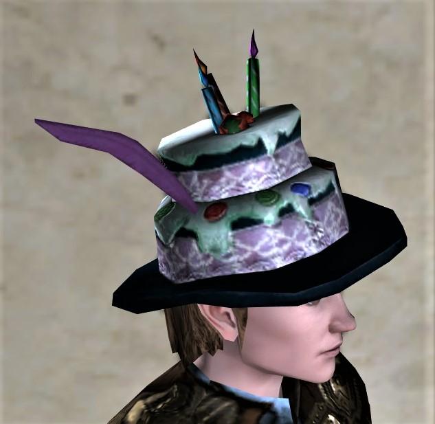 Fantastic Item Decorated Cake Topper Lotro Wiki Com Funny Birthday Cards Online Aeocydamsfinfo