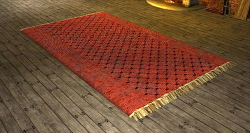 Item Large Red Rug Lotro Wiki Com