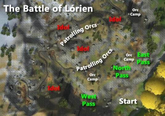 The Battle of Lórien - Lotro-Wiki.com