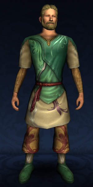 Long-sleeved Elven Tunic and Trousers