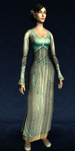 Long-sleeved Elven Dress
