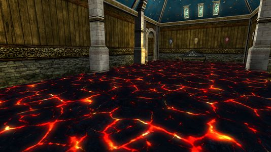 This Floor is Lava in a Belfalas House