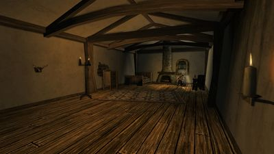 Toradan's room in The Comb and Wattle Inn