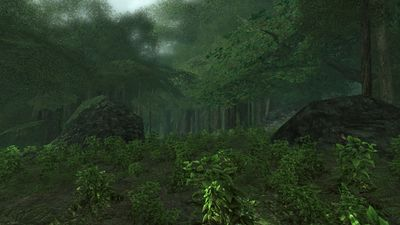 Another view of the Dire Glade
