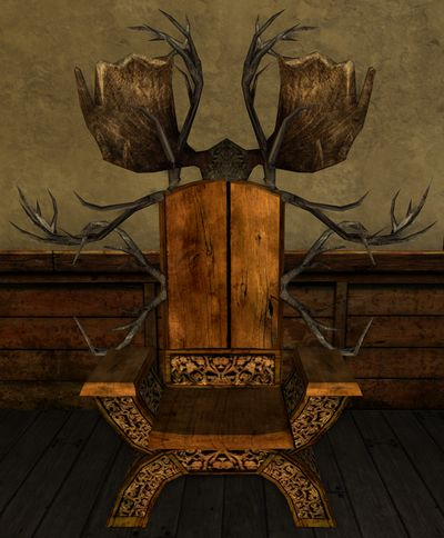 Fancy Rohirric Chair with Moose Antlers.jpg