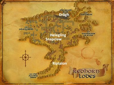 The Redhorn Lodes Named Creatures