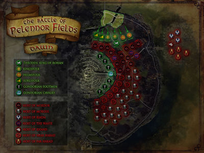 Map of the Field of Onslaught