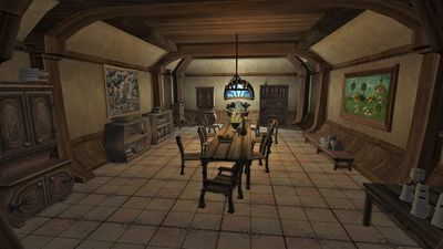 Dining room in Bag End