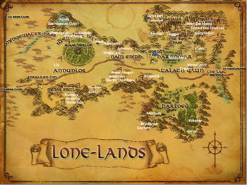Lone Lands with Named Creatures