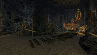 Another view of troll pit