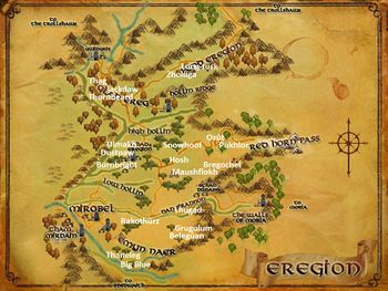 Eregion Named Creatures
