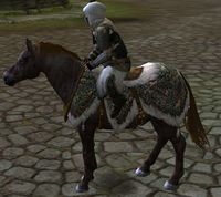 Image of Steed of the Woodland Realm (Pony)