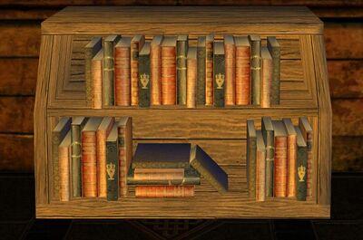 Scholars Small Bentwood Bookshelf