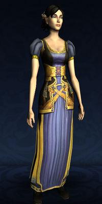 Recipe Contributors >> Item:Short-sleeved Dwarf-make Dress - Lotro-Wiki.com