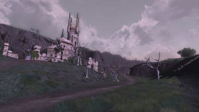 The road into the Fields of Fornost