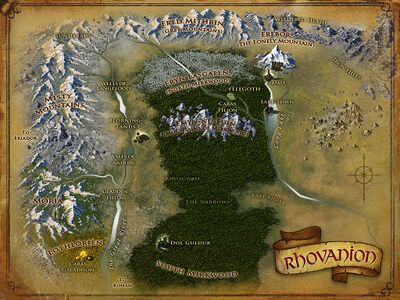 Map of Rhovanion