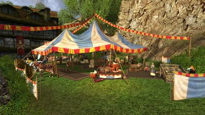 Festival Market which appears during the Anniversary Event