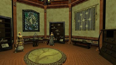 The inner study of the Scholar's Guild Hall