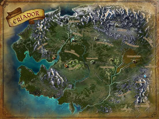 Maps lotro wiki click for larger image gumiabroncs Gallery