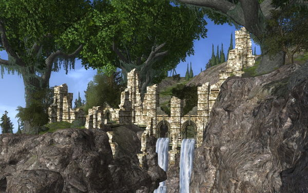 The Ruins of Thargelon in North Ithilien