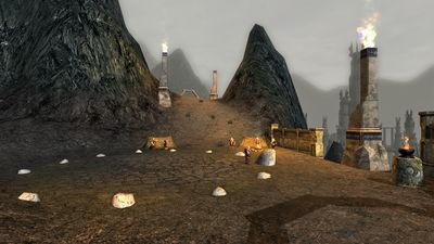Another view of the dwarven outpost