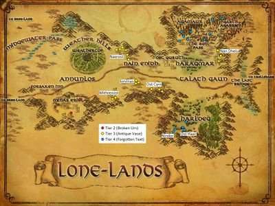 The Lone Lands Artifacts
