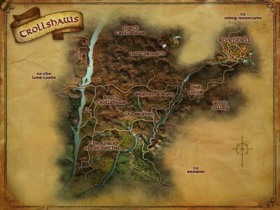 Map of The Trollshaws