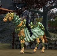 Image of Winged Herald Horse