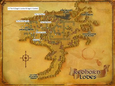 The Redhorn Lodes Artifacts