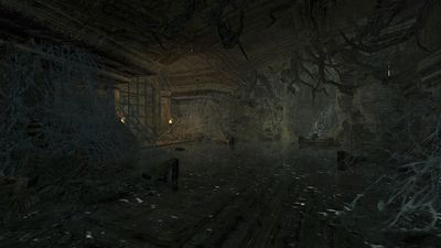 The central flooded chamber of the elven ruins