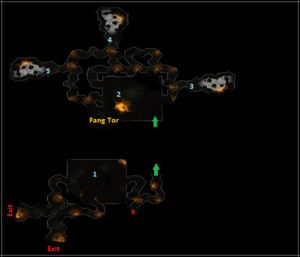 Map from Wyrmdelf cave...