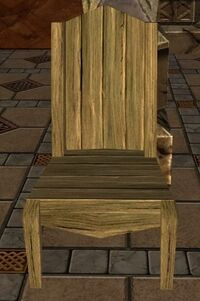 item wooden chair   lotro wiki