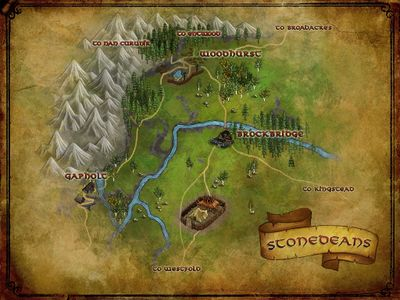 Map of Stonedeans