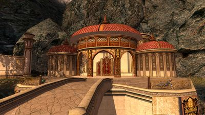 Library in Edhelion before it was destroyed