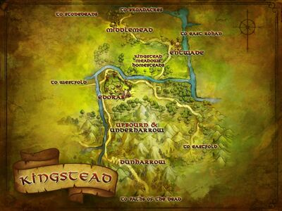 Map of Kingstead