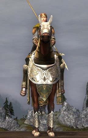 Prized Helmingas Horse: front view