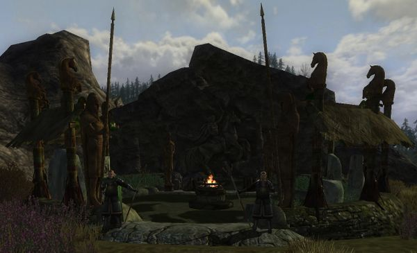 The Monument to Eorl - Eorl's Hallow