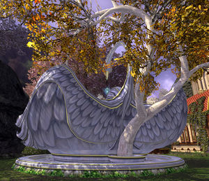 item swan fountain   lotro wiki