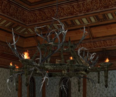 Itemlarge rohirric antler chandelier lotro wiki large rohirric antler chandelierg aloadofball Image collections