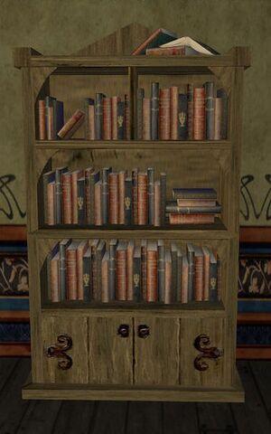 ItemScholars Pointed Bookshelf
