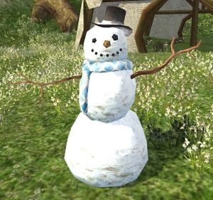 item top hat snowman   lotro wiki