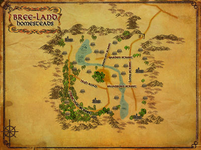 Bree Land Homesteads Lotro Wiki Com