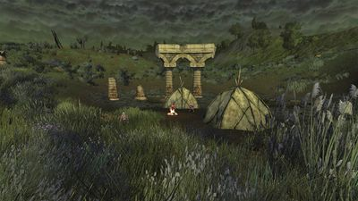 One of the smaller camps in Goblinhole