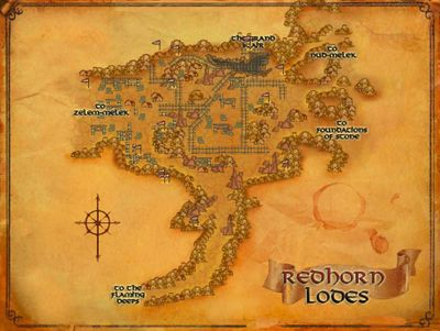 The Redhorn Lodes POIs