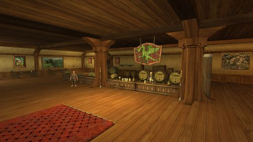Green Dragon Inn Drinks Hoodie Lord Prancing Pub Pony Cauldron Three Leaky D422